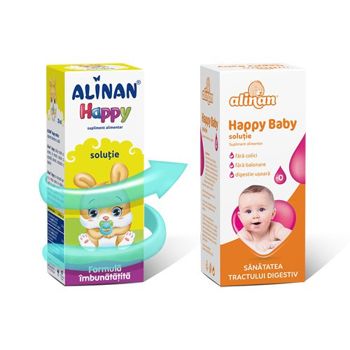 Alinan Happy Baby picaturi anticolici 20ml