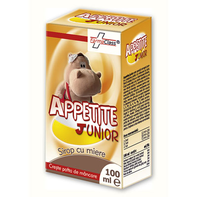 Appetite Junior Sirop cu Miere 100ml
