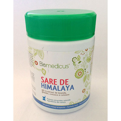 BIOMEDICUS Gel sare Himalaya 250ml