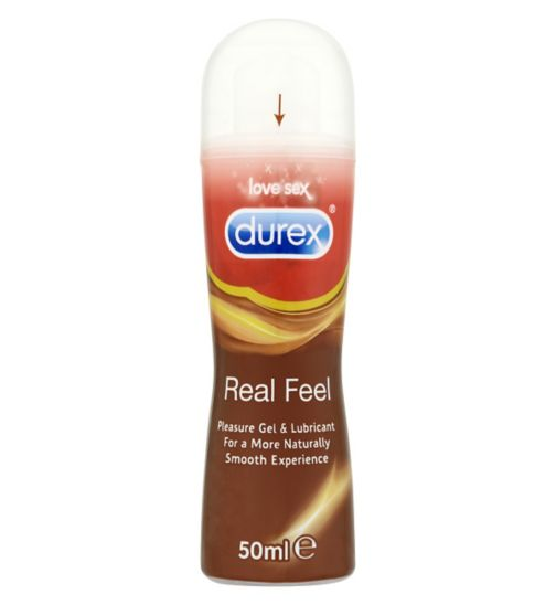 Durex lubrifiant play real feel 50ml for Geles placer