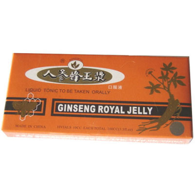 Ginseng Royal Jelly 10 flacoane