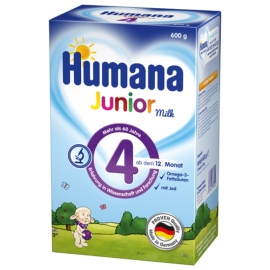 Humana Junior Milch 4 x 600g