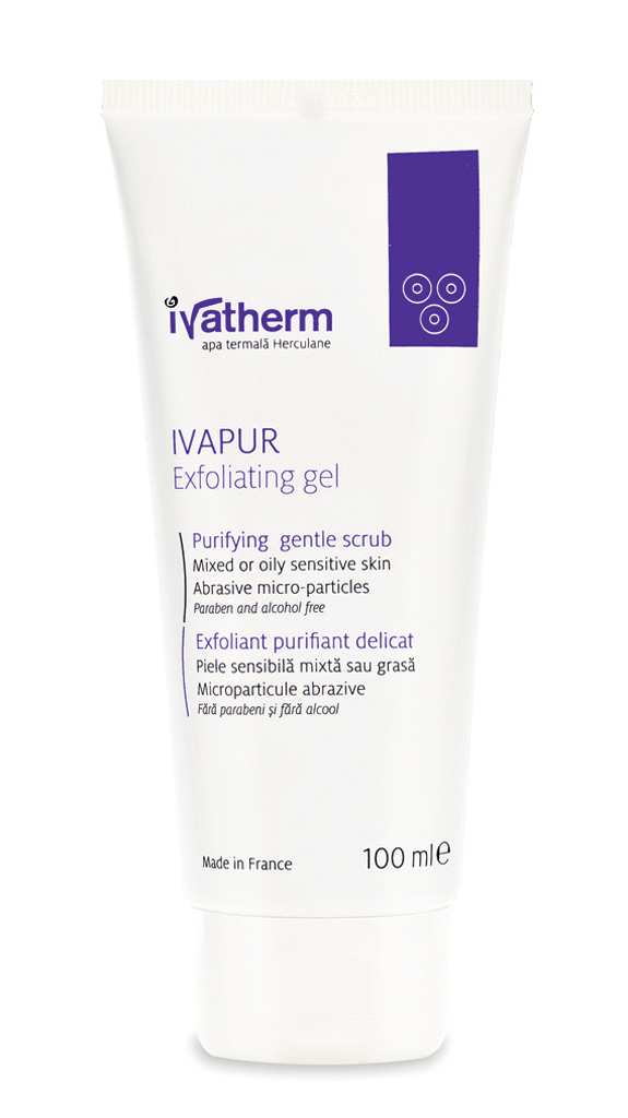 Ivatherm Ivapur gel exfoliant 100ml