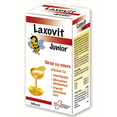 Laxovit Junior sirop 100ml