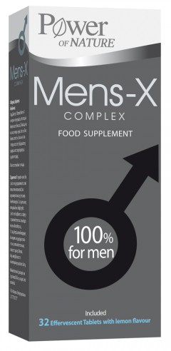 Power of Nature Mens-X Complex 32 tablete efervescente