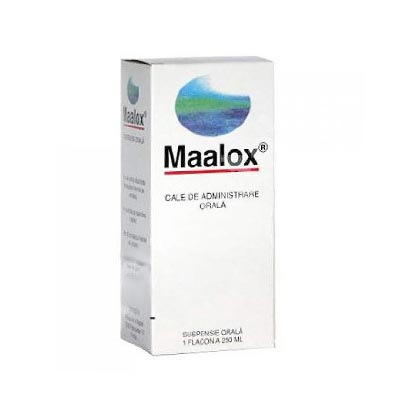 Maalox suspensie orala 250 ml