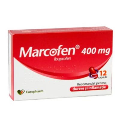Marcofen 400mg x 12cps