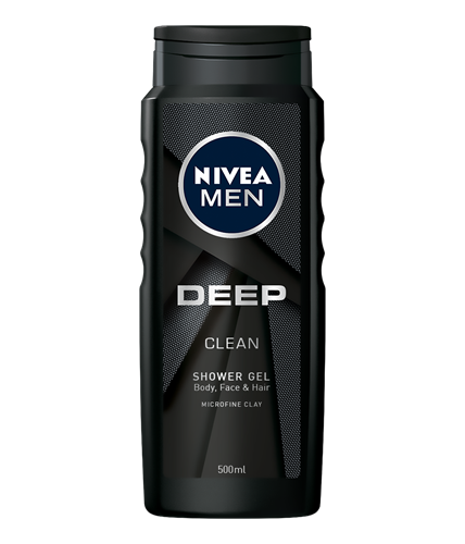 Nivea Men Deep Clean Gel de dus 500ml