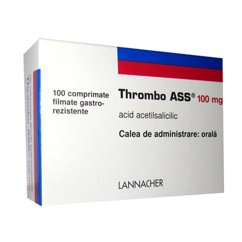 Thrombo Ass 100mg x 100cp