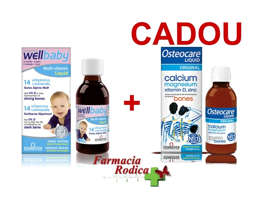 Wellkid Baby sirop 150ml + Osteocare 200ml CADOU