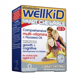 Vitabiotics Wellkid Smart 30 comprimate