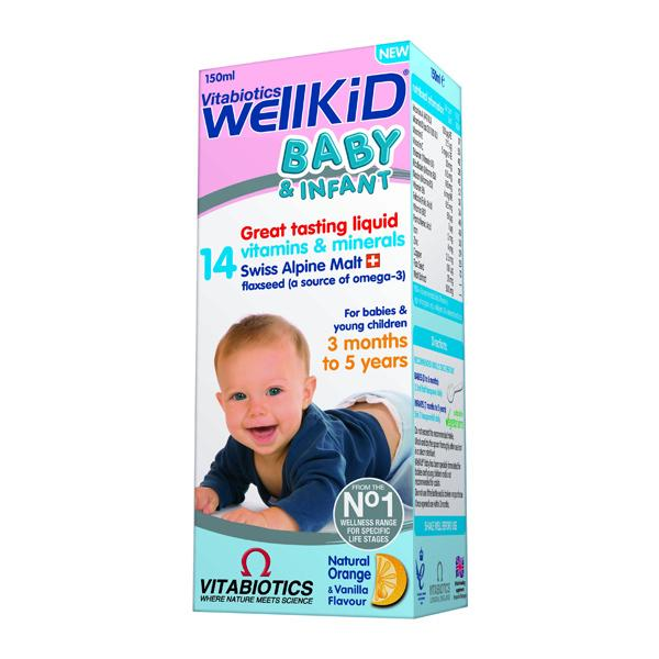 Vitabiotics Wellkid Baby sirop 150ml