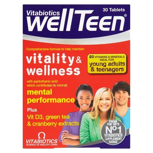 WellTeen 30 tablete