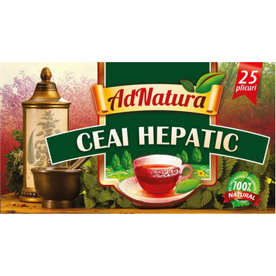 AdNatura Ceai hepatic 25 doze