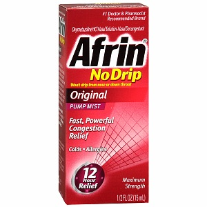 Afrin spray nazal 15 ml