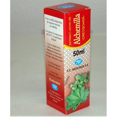 Extract lichid de Alchemilla pic.or 50ml