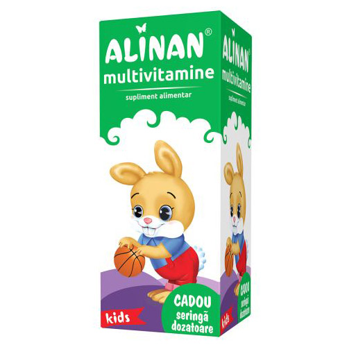 Alinan Multivitamine sirop 150ml