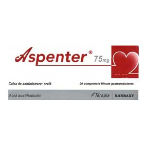 Aspenter 75 mg Terapia