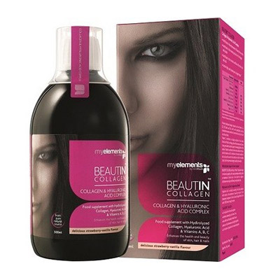 MyElements Beautin Collagen capsuni/vanilie