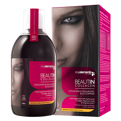 MyElements Beautin Collagen mango/pepene galben
