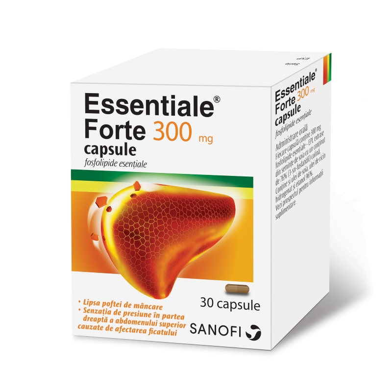 Essentiale Forte 300mg 30 capsule