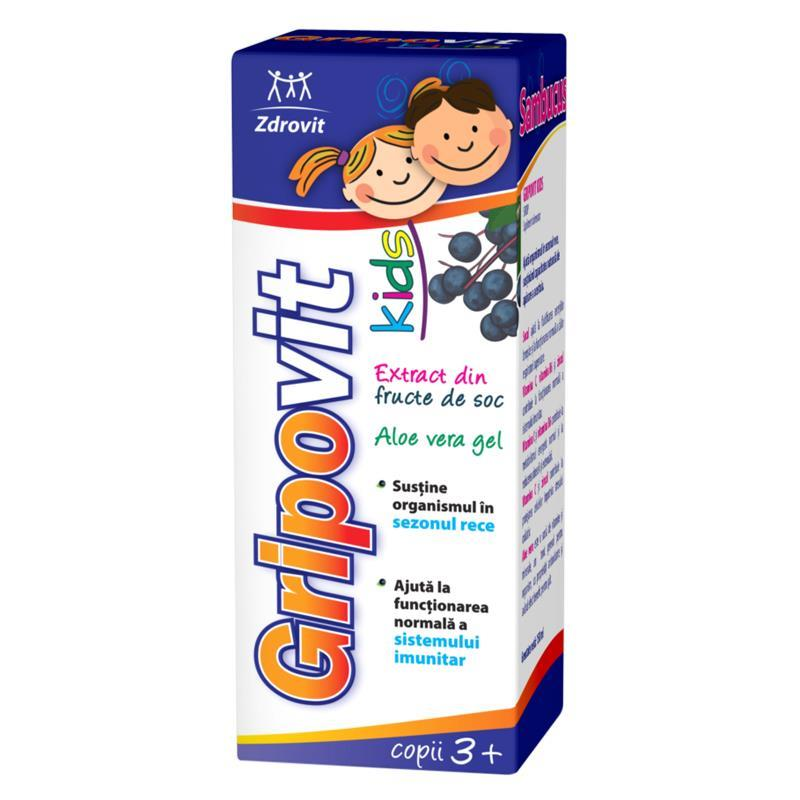 Gripovit Kids soc sirop 150ml