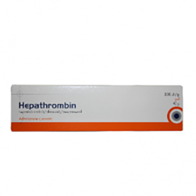 Hepathrombin 30000UI gel x40g (Hemofarm)