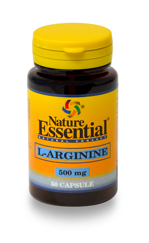 NATURE ESSENTIAL L-Arginina 500mg capsule