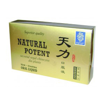Natural potent x 6 fiole