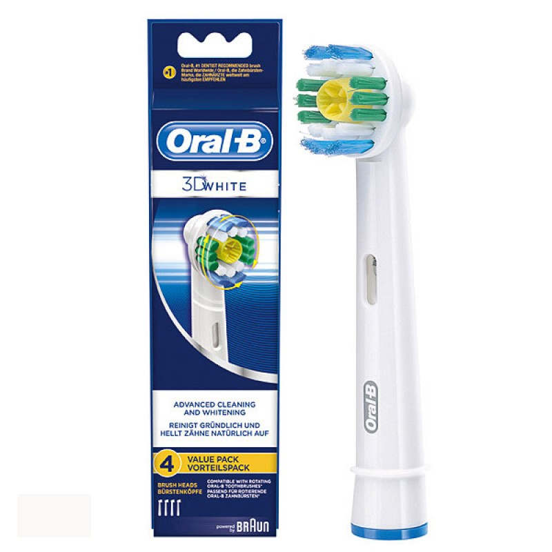 ORAL B 3D White Rezerve Periuta electrica Value Pack