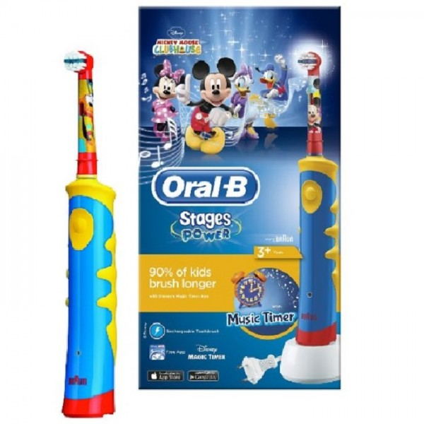 ORAL B Periuta electrica copii Mickey Mouse D10-513