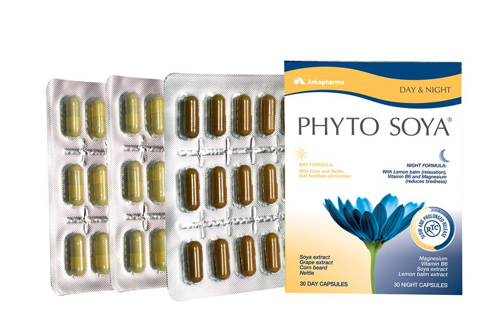 Phyto Soya day and night 35mg  60 capsule
