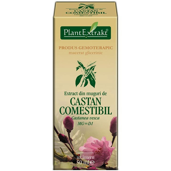 PlantExtract Extract castan comestibil 50 ml
