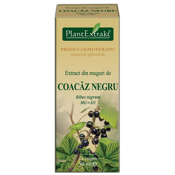 PlantExtract Extract coacaz negru 50 ml
