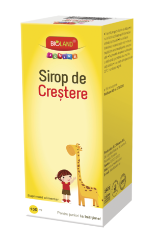 Bioland Junior Sirop crestere x 150ml