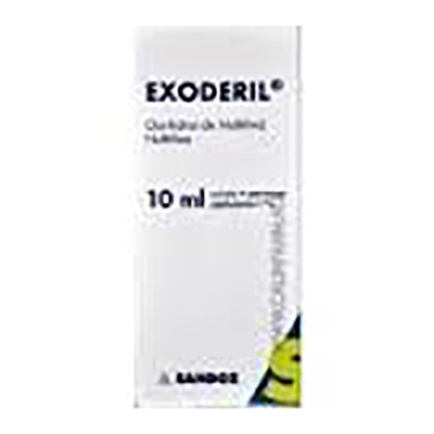 Exoderil 1% sol.ext x 10ml