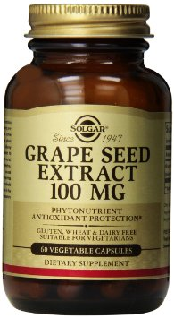 Solgar Grape Seed Extract - Extract de samburi de strugure 100mg 50 capsule