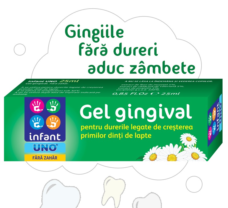 Infant Uno gel gingival 25g