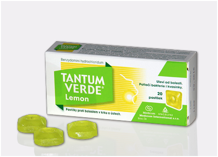 Tantum Verde lemon 3mg 20 tablete