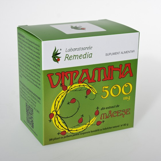 Remedia Vitamina C 500mg 20 doze