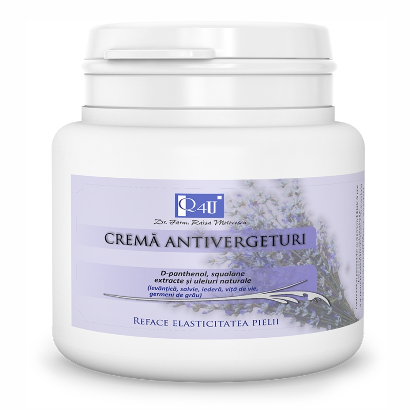 Crema antivergeturi Q4U Tis 500ml