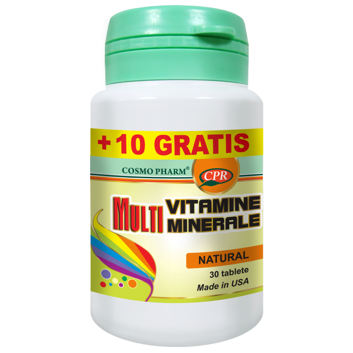 Multivitamine si Multiminerale 30+10 tablete