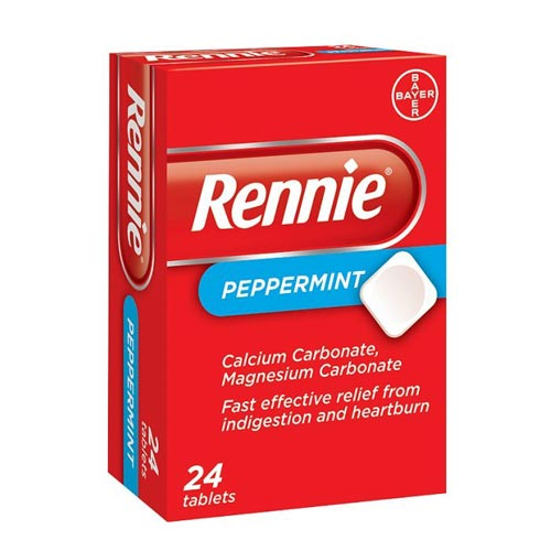 Rennie Peppermint 24 comprimate masticabile Bayer