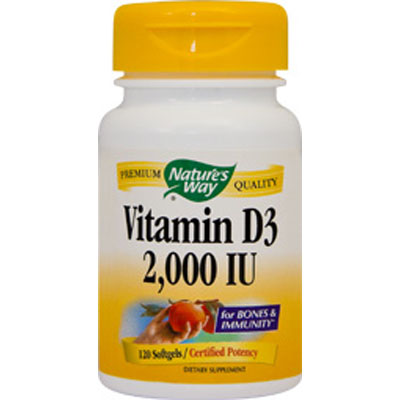 Vitamin D3 2000UI 30 capsule Nature s Way