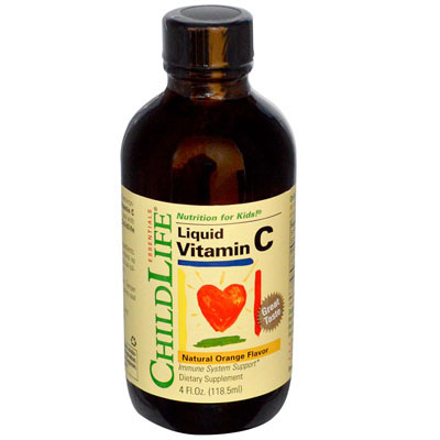 Vitamin C copii orange 118,5ml Child Life