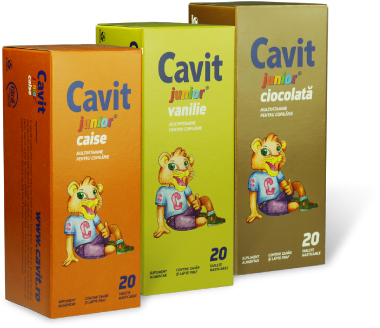 Cavit Junior Caise 20 tablete