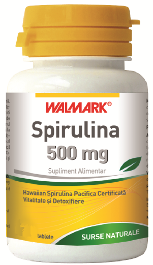 Spirulina 500 mg 100 tablete
